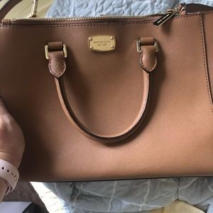 Michael Kors Brown Tote w/Strap